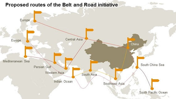 Belt and road initiative bri countries