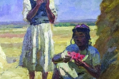Semen Chuikov (1902-1980). Etude for the Midday painting. Circa 1940-s. Oil on canvas laid on cardboard, 45х35.