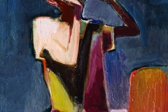 Bahtiyar Tabiev (1940-1999). The thirst. 1992 year. Oil on canvas, 65х85