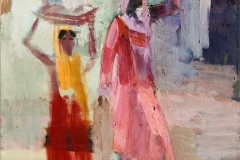 Vladimir Butorin (1936-2005). Women of the Orient. 2002 year. Oil on canvas, 80х110 cm